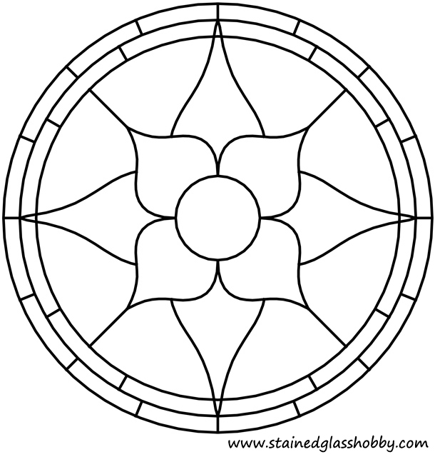 Simple Flower Stained Glass Patterns | www.pixshark.com ...