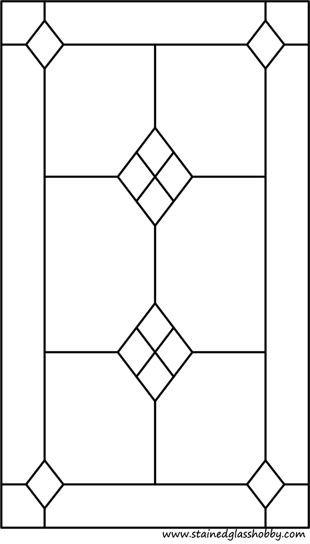 renaissance stained glass coloring pages - photo#3