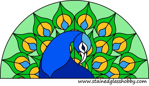Peacock Stained Glass Adorable Stain Glass Patterns
